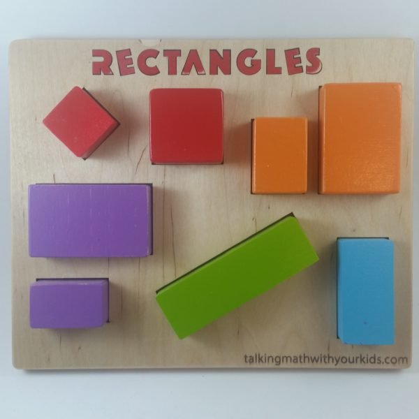 8 colorful chunky rectangles in a puzzle frame